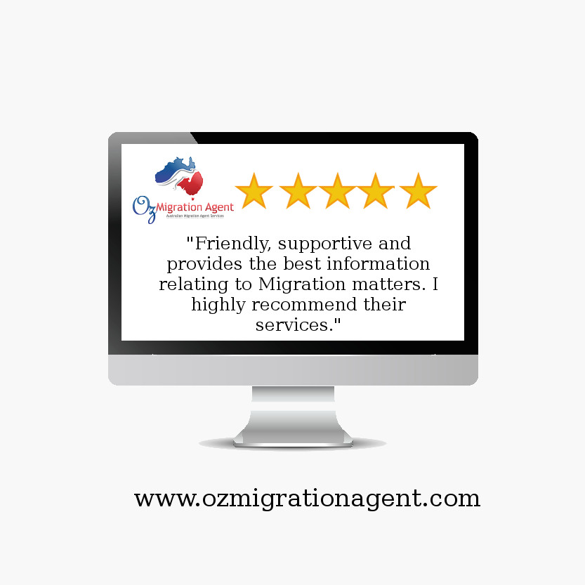 5 Star Client Feedback @ Oz Migration Agent - Migration Agent